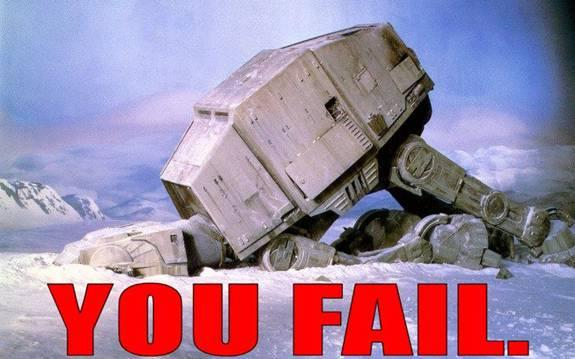 star wars fail